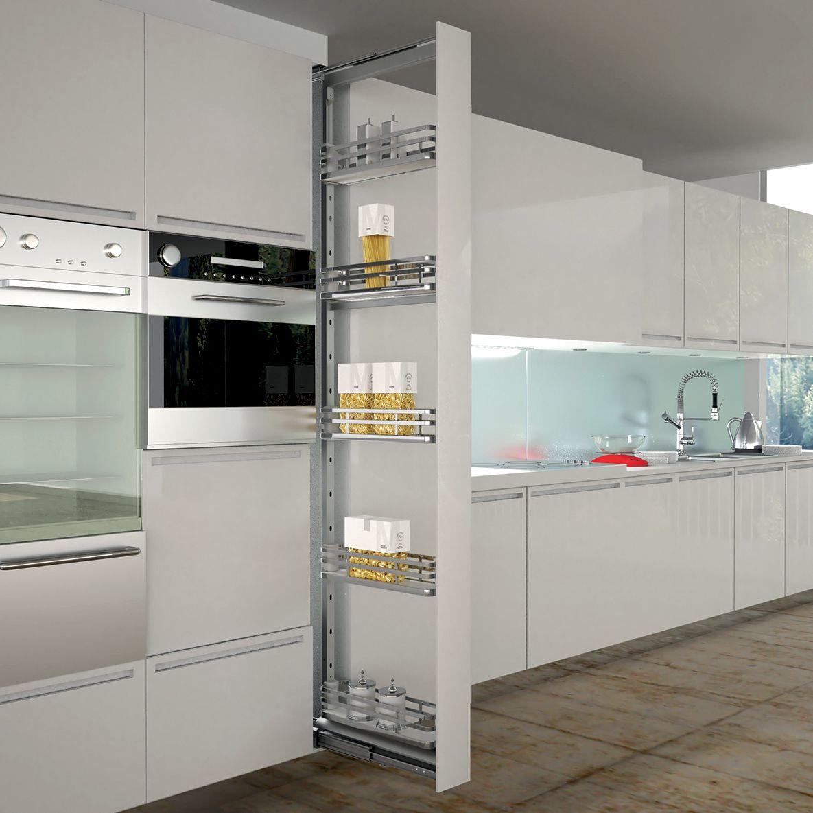 armoire coulissante rangement pices cuisines teisseire. Black Bedroom Furniture Sets. Home Design Ideas