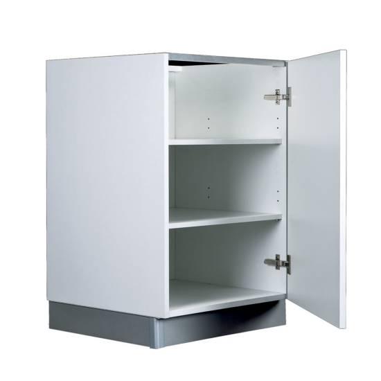 Meuble bas – 1 porte : disponible en plusieurs largeurs de 40 à 60 cm