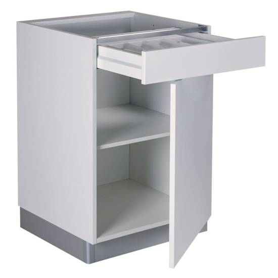 Meuble bas – 1 porte – 1 tiroir