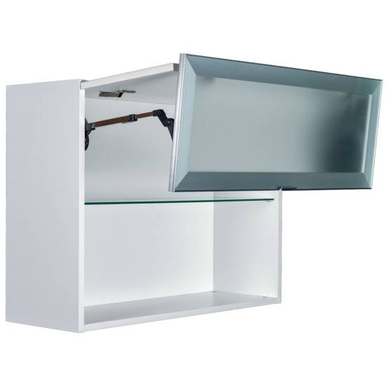 Meuble haut lift déco : disponible en plusieurs largeurs de 60 à 90 cm