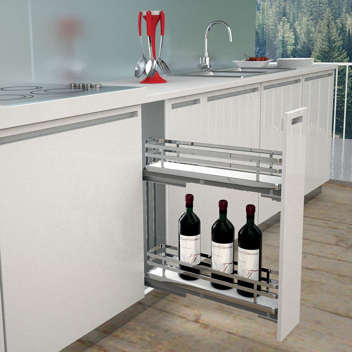 meuble porte bouteilles pices cuisines teisseire. Black Bedroom Furniture Sets. Home Design Ideas