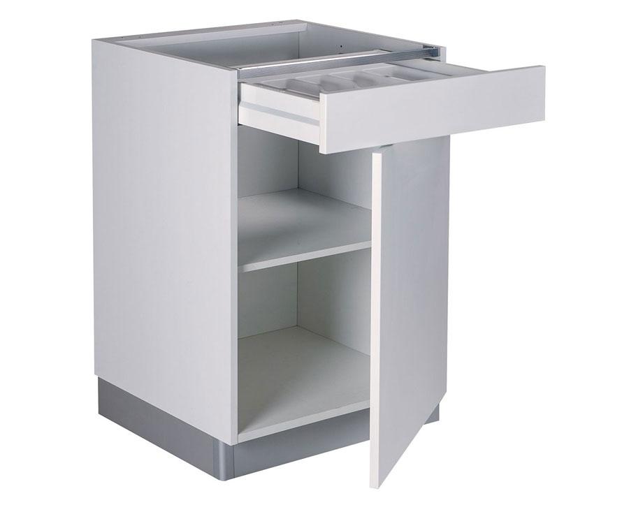 Meuble bas – 1 porte - 1 tiroir
